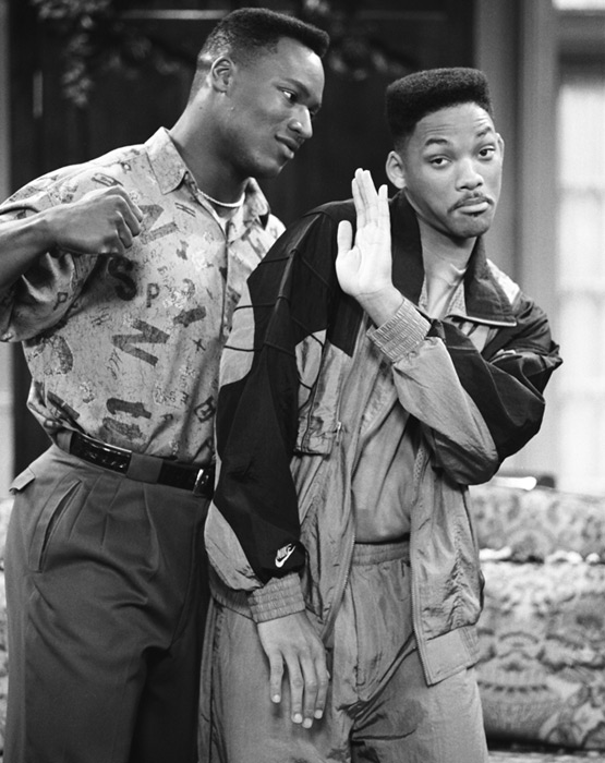 Jackson makes a guest appearance on the NBC TV show  The Fresh Prince of Bel-Air.