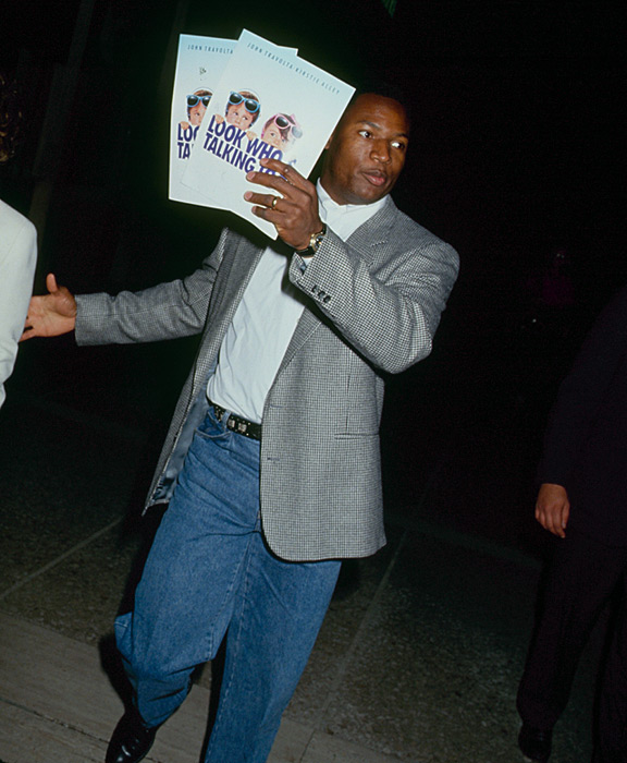 Jackson attends the opening of  Look Who's Talking Too.