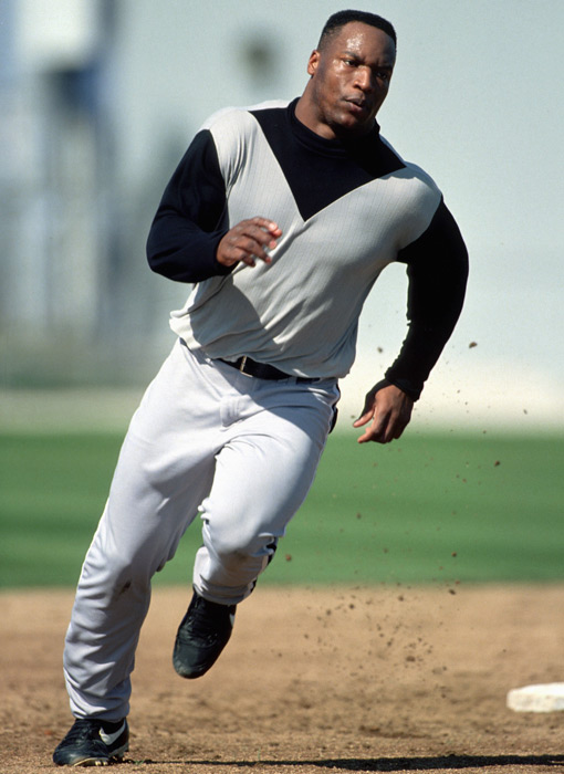 With a new hip, Jackson prepares to make his return to baseball in 1993.