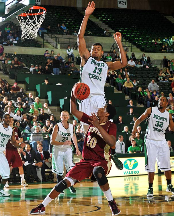 Mitchell was the only Division I player in '11-12 to rank in the top 20 in defensive rebounding percentage (28.8, fourth) and block percentage (11.0, 15th) -- and that was as a freshman who couldn't start practicing with the Mean Green until December. His sophomore-year numbers are expected to be even further off the charts.