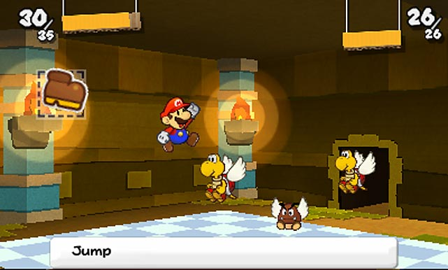 "It's an understatement to describe Paper Mario: Sticker Star as ""cute."" The Paper Mario series, which places a flat, 2D Mario into an even-more-whimsical version of the Mushroom Kingdom has always been known for its silly, goofy humor and simplified RPG-style combat. Sticker Star is more of the same, with Mario out to rescue (surprise, surprise) Princess Peach from the clutches of (wait for it...) Bowser, using the power of... stickers. Stickers have been scattered across the various worlds and each one gives Mario different powers he can use in the game's turn-based combat against both classic and new villains and bosses. There's a fair amount of reading in the game, though most of the dialogue is simple enough for younger children to comprehend, though some of the puzzles and bosses can get frustrating if you haven't collected the right combinations of stickers. Your glowing companion, Kersti - this is typical of the game's sense of humor - is usually on hand to offer hints, though when she's not, you might not always be able to figure out what to do next. That said, it's a great little RPG for beginners and for Mario fans.   Score: 8 out of 10"