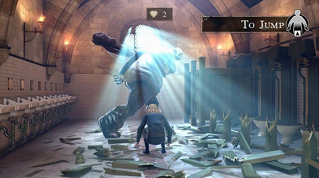 What a missed opportunity. Harry Potter for Kinect lets players reenact key moments from the Harry Potter movies using the Xbox's full-body motion sensing camera. Players will be called upon to mix potions, chase the Seeker in Quidditch, cast spells and a variety of other film-inspired activities. The visuals in the game are generally quite impressive, though the voice acting sound-alikes run the gamut from spot-on to cringe-inducing. Unfortunately, the game mechanics are often awkward and sloppy and the game uses stills throughout instead of movie clips. Kids might enjoy the game's simplicity, but otherwise only the hardest-core Harry Potter fans need even consider.   Score: 5 out of 10