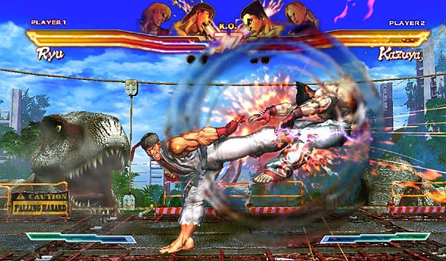 When Capcom released Street Fighter X Tekken to the Xbox and PS3 in March, it was a true love or hate affair. Now, seven months later, the game has made it to the Vita. The game's robust training mode is helpful, but the control scheme remains as complicated as the console version. And despite a wide array of available characters there's definitely some balance issues between the Street Fighter and Tekken lots. The graphics in SFXT are not quite on par with what we've seen from other Vita titles: backgrounds have been converted down to 2D, and there's less detail to textures overall. If you're looking for a portable fighter this might do the trick, but it won't likely appeal to hardcore fighting fans.   Score: 5.5 out of 10