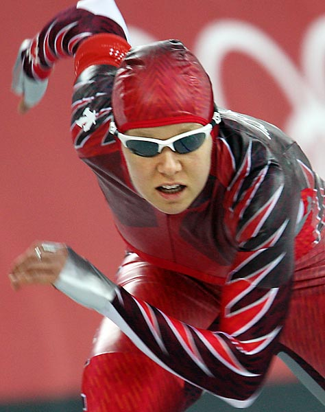 A long track speed skater, Cindy Klassen added to her 2002 Salt Lake City bronze medal by winning five more medals in Turin in 2006.