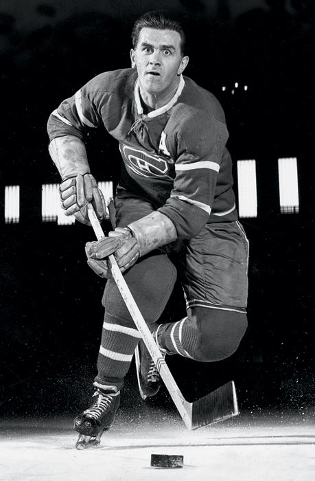 "Maurice -- the ""Rocket"" -- Richard was so good that the Hockey Hall of Fame waived the customary three-year wait in order to induct him in 1961."