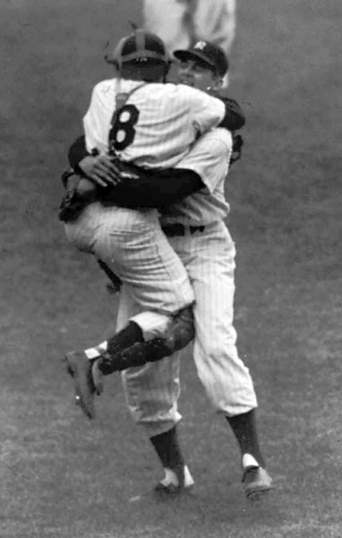 The Yankees and Orioles completed an 18-player deal that swapped mostly inconsequential players, but did deliver Don Larsen to New York. Larsen would famously go on to pitch the only perfect game in World Series history in 1956. The trade also involved Gus Triandos, who was a three-time All-Star in Baltimore and is referenced in season three of The Wire.