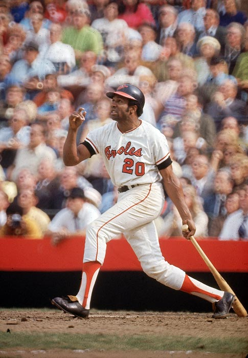 "<italics>Details: The Reds traded Frank Robinson to the Orioles for Milt Pappas, Jack Baldschun and Dick Simpson.</italics> The historically lopsided deal saw a Cincinnati legend leave town at the age of 30 (""an old 30"" according to Reds owner Bill DeWitt) for three players that never had a significant impact in Cincinnati. Robinson won the Triple Crown, American League MVP and World Series MVP in his first season as an Oriole. He would also be named to six more All-Star teams in Baltimore and win the All-Star Game MVP award."