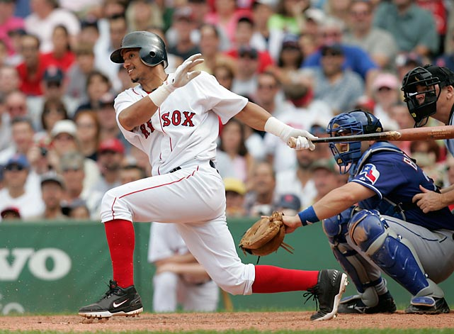 <italics>Details: The Red Sox traded Nomar Garciaparra and Matt Murton to the Cubs, the Expos traded Orlando Cabrera (pictured) to the Red Sox, the Twins traded Doug Mientkiewicz to the Red Sox, the Cubs traded Francis Beltran, Alex Gonzalez and Brendan Harris to the Expos, the Cubs traded Justin Jones to the Twins.</italics> It was the shocking end to the Nomar Garciaparra era in Boston, but the trade netted the Red Sox Orlando Cabrera and Doug Mientkiewicz, who were instrumental in the Boston's curse-breaking World Series victory later that season.