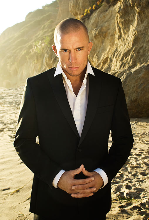 UFC welterweight champion Georges St-Pierre poses during a portrait shoot on September 16, 2009 in Los Angeles, Calif.