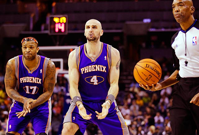 P.J. Tucker (left), Marcin Gortat: There isn't a quip for this one that doesn't involve testicles.