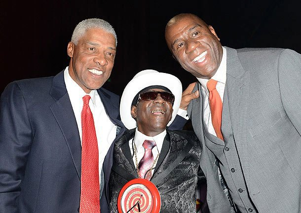 "Julius Erving, Flava Flav, Magic Johnson: ""Life's too short to mourn this Phil Jackson thing forever!"""