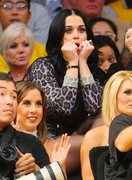 "Katy Perry: ""Holy crap, Chris Duhon, I knew you were going to be bad, but ... wow."""