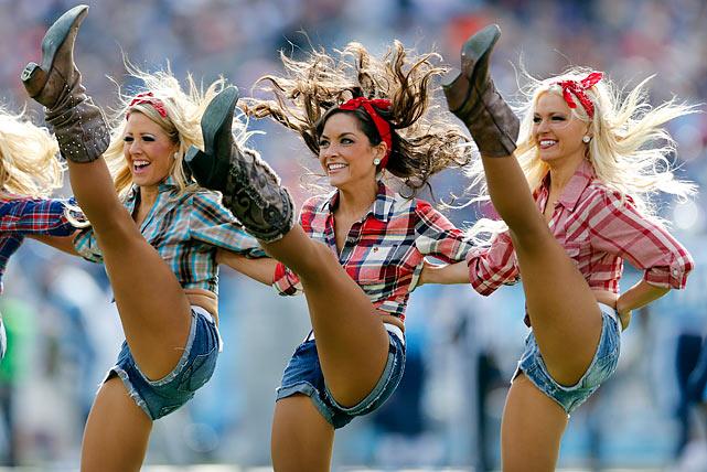 Nfl Cheerleaders Week 9 Si Com