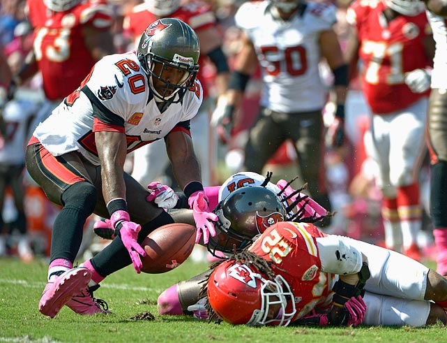 A subtle position change later -- moving from cornerback to free safety -- Ronde Barber, the longtime heart and soul of the Buccaneers' defense, is dangerous as ever. The 37-year-old Barber, in his 16th season, has already collected three picks to lead a suddenly surging Tampa Bay team that has won its last two games following a bye week to make a midseason push for a NFC playoff spot.