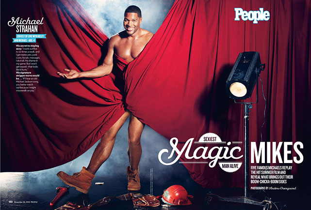 People 's  annual Sexiest Man Alive issue  is on newsstands now with Channing Tatum taking the top honors. Over the years, the issue has also showcased several athletes deemed sexy enough to appear in the issue. From Ricky Williams to Michael Strahan, here's a look at some of  People 's athlete-related choices.