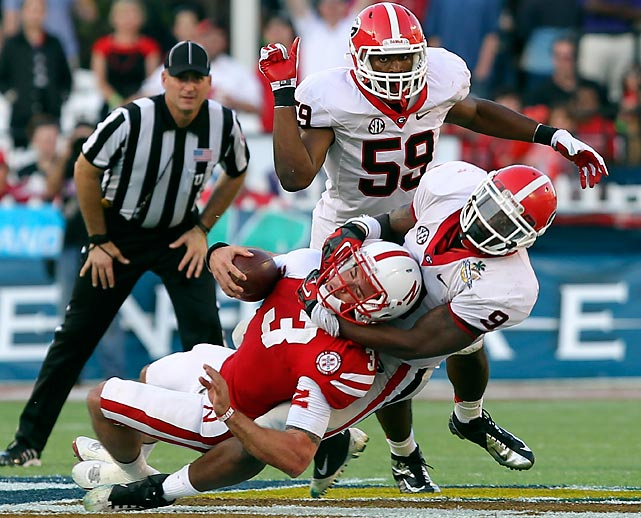 While fellow Georgia linebacker Jarvis Jones gets the majority of national acclaim, Ogletree is an immense talent in his own right. That was on full display during the Bulldogs' Capital One Bowl win over Nebraska, as he amassed 13 tackles, three tackles for loss, a sack and a forced fumble.