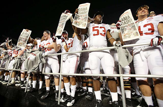 Alabama cemented its status as a dynasty, becoming the first school to outright win back-to-back national championships since Nebraska in 1994-95.