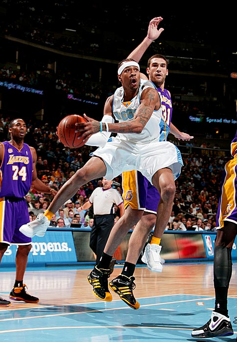 50 vs Atlanta (November 29, 2003)                                    51 vs Lakers (December 5, 2007, Pictured)                                   51 vs Utah (December 20, 2004)                                    53 vs Atlanta (Devember 23, 2005)                                    54 vs Milwaukee (December 18, 2004)                                    55 vs New Orleans Hornets (April 20, 2003)                                   60 vs Orlando (February 12, 2005)