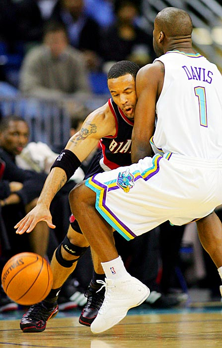 54 vs New Orleans Hornets (January 14, 2005)