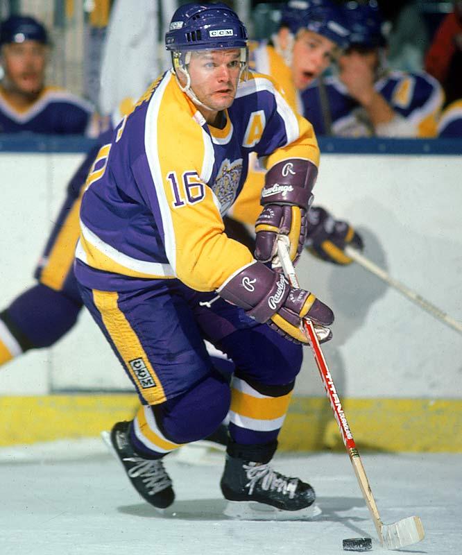 NHL seasons: 18 (1971-89)Teams: Red Wings, Kings, Rangers