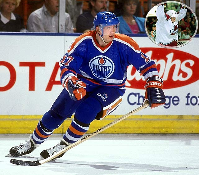 NHL seasons: 17 (1980-90, 1991-98)Teams: Oilers, Kings, Rangers, Mighty Ducks, Avalanche