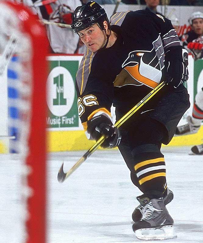 NHL seasons: 18 (1984-97, 2000-05)Team: Penguins
