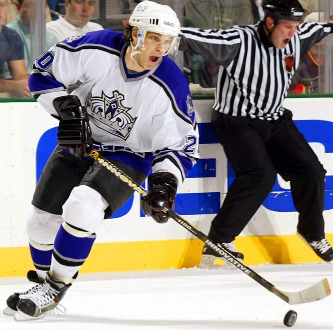 NHL seasons: 20 (1986-2006)Teams: Kings, Penguins, Rangers, Red Wings