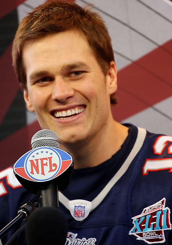 "Patriots quarterback Tom Brady was asked: ""What is your purpose in life?"""