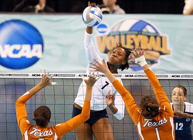 By winning its third consecutive national volleyball title on Dec. 20, 2009, Penn State made its case to be remembered as one of the greatest, if not the greatest, volleyball teams in NCAA history. The championship victory over Texas extended the Nittany Lions' record winning streak to 102 straight games, the second longest streak in Division I team sports, behind only the Miami men's tennis program's 137 straight victories from 1957 to '64.