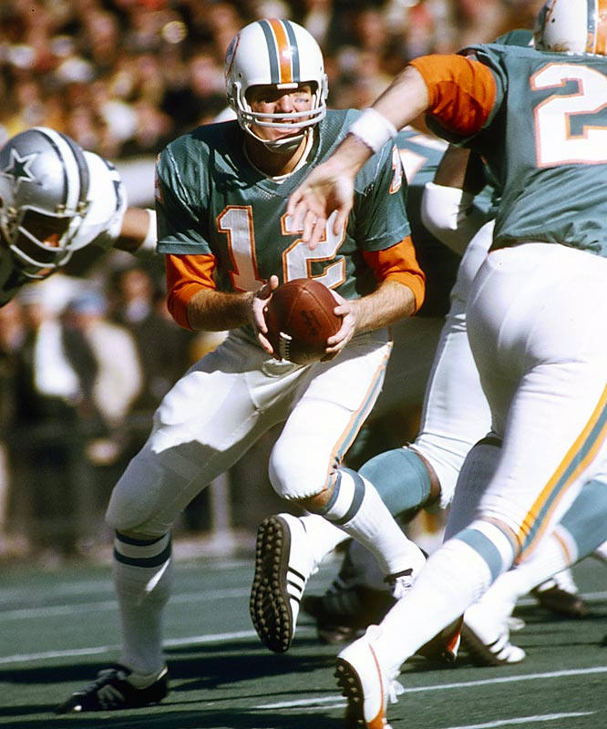 The Miami Dolphins' perfect 17-game season in 1972.
