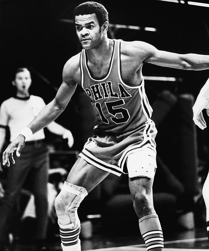 A 10-time All-Star and one of the NBA's 50 greatest players, the 6-foot-2 guard remained with the same franchise his entire 15-year career (the Nationals became the Philadelphia 76ers in 1963). Greer, the franchise's all-time scoring leader, was the first 76er to have his number retired.