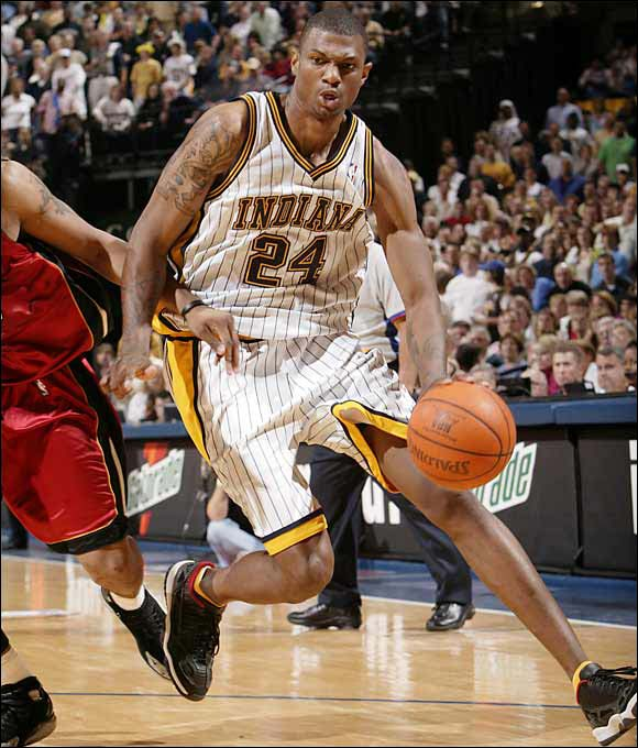 Indiana acquired the draft rights to the preps-to-pros, Kevin-Garnett look-alike for solid big man Antonio Davis. Bender showed tantalizing flashes of his potential but never put it together before cutting short his career because of knee injuries in February 2006.