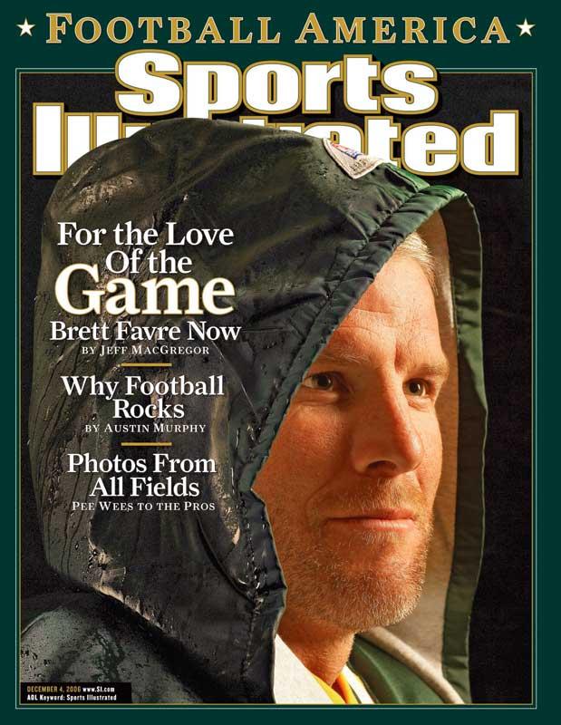 Sports Illustrated Cover Book ~ Brett favre book atlanta falcons rookie season packers