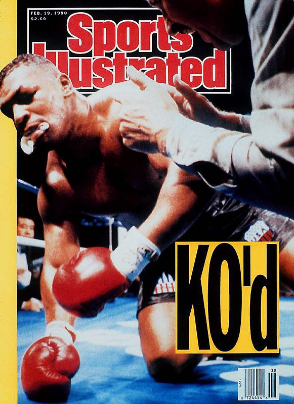 Douglas was a 42-1 underdog against unbeaten ''Iron Mike'' in February 1990 but Douglas scored a knockout and the undisputed heavyweight title.