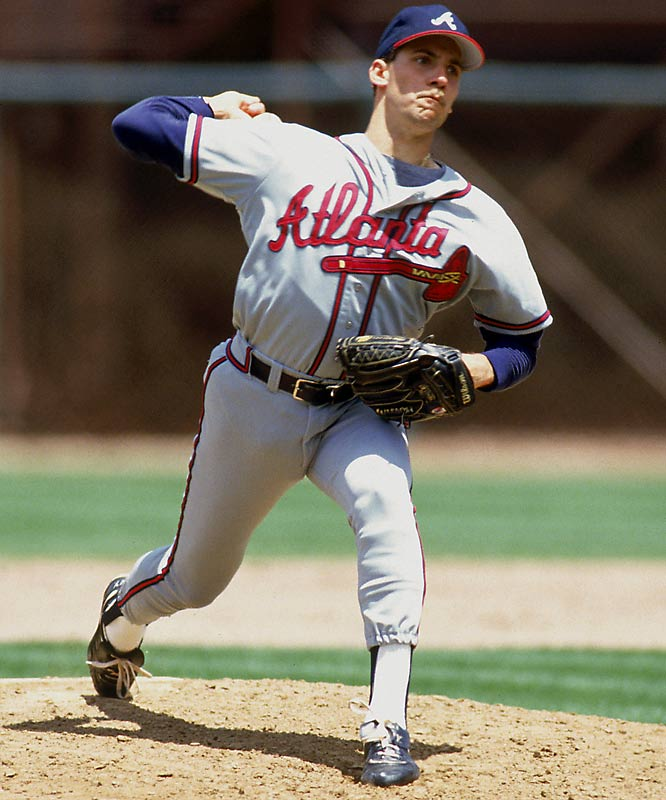 The 1996 Cy Young Award-winner allegedly burned himself in 1990 by ironing a shirt while he was still wearing it. Steamed by the story, Smoltz adamantly denies the injury ever happened.