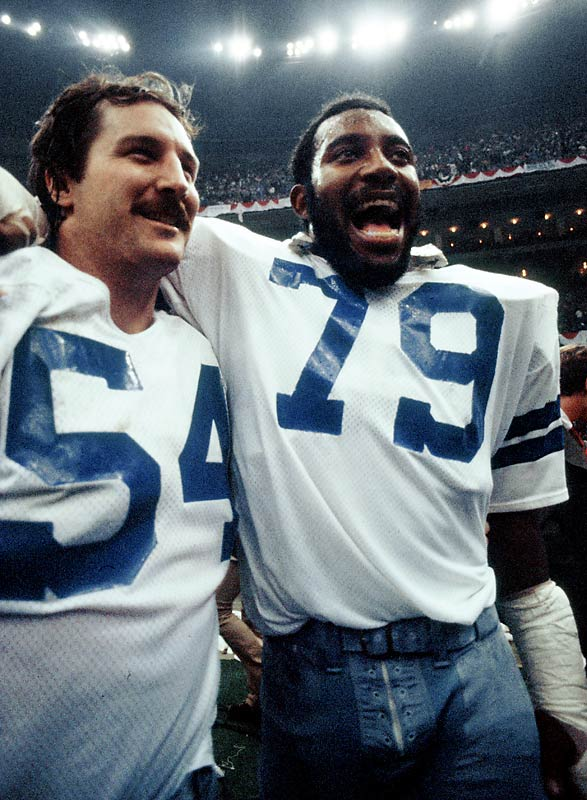 Martin and White led the way for a defensive line which forced eight turnovers in a 27-10 thumping of the Broncos. Denver's two quarterbacks -- Craig Morton and Norris Weese -- completed just eight of their 25 pass attempts as the Doomsday Defense put an end to Denver's championship hopes.
