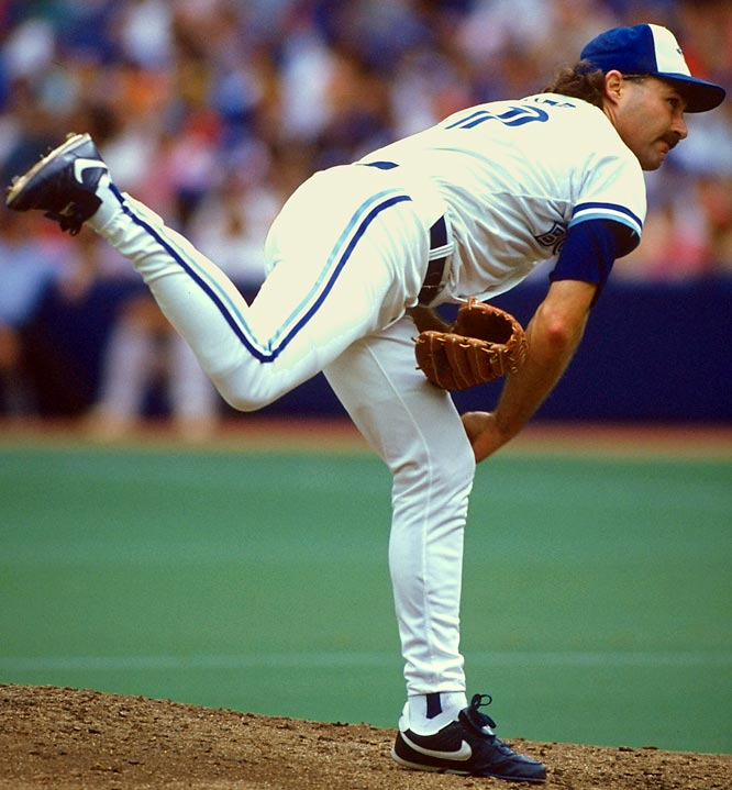 He gave the Blue Jays mound respectability during his 16 years in the majors. Stieb remains the only Blue Jay to throw a no-hitter (Sept. 20, 1990) and holds the franchise record in wins (176), innings pitched (2,873), strikeouts (1,658), complete games (103) and shutouts (30). Runner-up: Bill Lee
