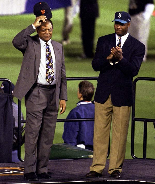 In 1999, still in the prime of his career, Griffey was voted to major league baseball's 30-man All-Century Team along with Willie Mays, another fun-loving star who was as talented in the field as he was at the plate.