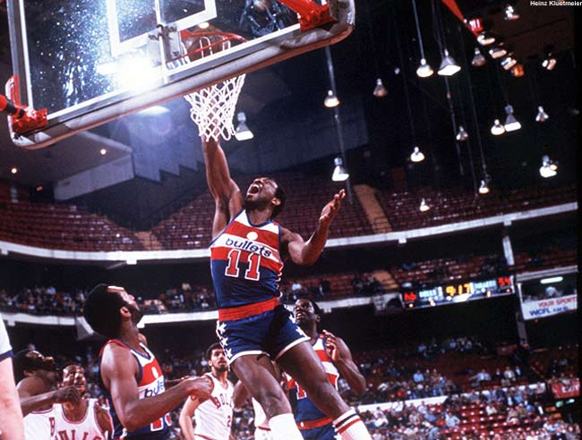 In one of the most lopsided trades in NBA history, the Houston Rockets trade future Hall of Famer Elvin Hayes to the Baltimore Bullets for forward Jack Marin and future considerations.