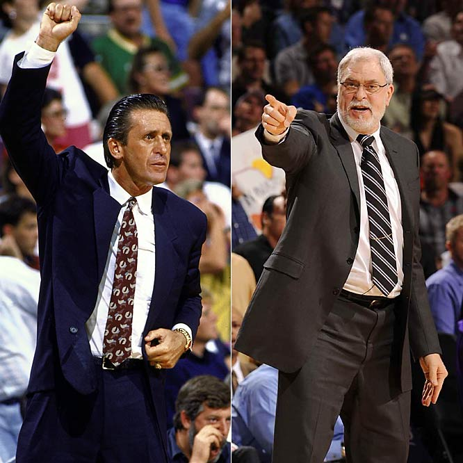 Copout? Sorry. Can't make a call. They're both good good. Riley would handle the rough stuff and Jackson would apply the Zen-like balm. An unbeatable team.