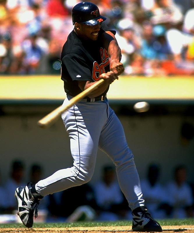 Bobby Bo was so happy to escape from New York that he raked for the Orioles, posting a batting line of .333-.392-.544 in 263 plate appearances. All it cost the O's was the unimpressive trio of Damon Buford, Alex Ochoa and Jimmy Williams.