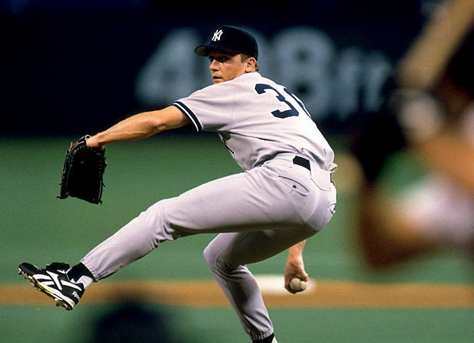 For the second time in his career, Cone joined a team in midseason and helped it reach the postseason. Cone went 9-2 in 13 starts for the Yankees and went on to become an integral piece of their late-'90s dynasty. The Blue Jays got three scrubs (Marty Janzen, Jason Jarvis and Mike Gordon) in return.