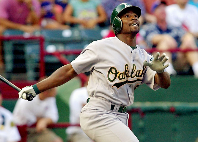 Before July 26 the A's were 59-43. After acquiring Durham, they went 44-16 to edge out the Angels for the AL West crown. Durham slugged .457 down the stretch for Oakland and batted .333 with a .417 OBP against the Twins in the ALDS.