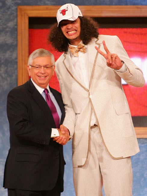 Noah said of his get-up: ''I feel it was a good look. I'm very happy with it, and I feel it was a success. Somebody said I looked like Bozo the Clown. I didn't like that.''