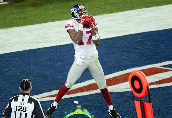 Asked by the New York Post whether he was ready to make history?''You better believe it.''Asked for his prediction?''23-17.'' Results: Giants pulled off the 17-10 upset with Eli Manning's game-winning touchdown pass to Burress with 0:35 left.
