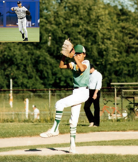 Long before reaching iconic status with the Yankees and winning four World Series titles under Joe Torre, Jeter played for his dad in the Westwood Little League in Kalamazoo, Michigan.
