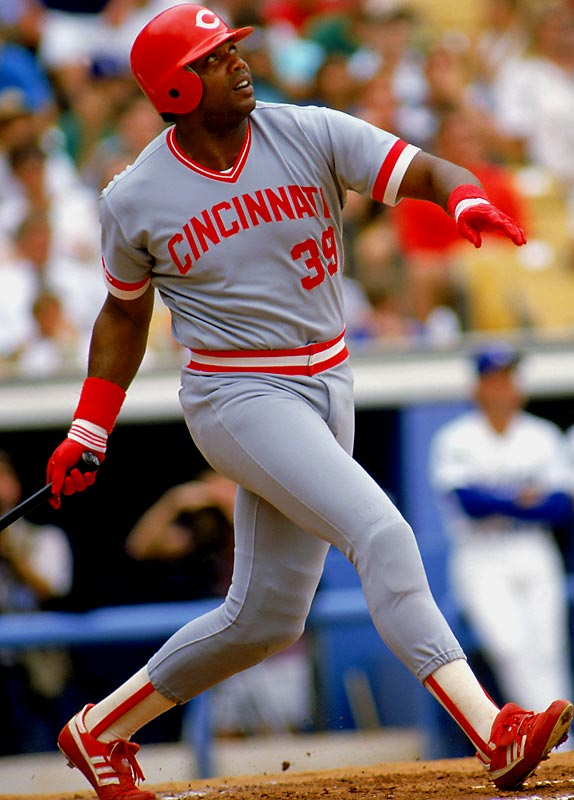"""Dave """"The Cobra"""" Parker was the original Home Run Derby champion in 1985, belting six home runs to defeat a field that included Jim Rice and future Hall of Famers Eddie Murray, Carlton Fisk, Cal Ripken Jr. and Ryne Sandberg at the Metrodome. Back then it was an AL vs. NL competition, and the Junior Circuit won 17-16."""