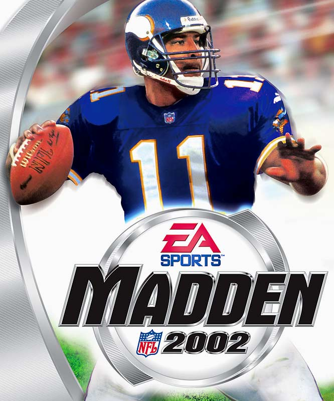 Madden hits the GameCube and XBOX platforms for the first time.