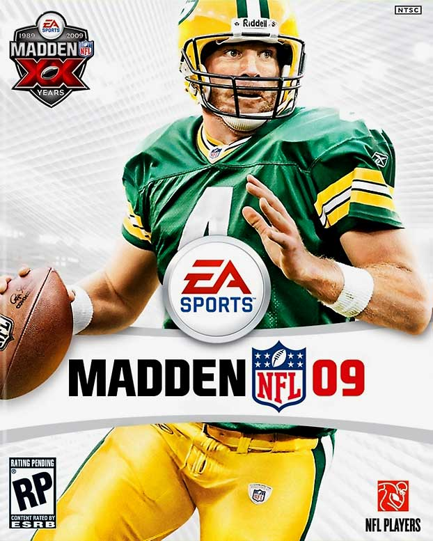 The cover was already out by the time Brett Favre got the itch to play again.