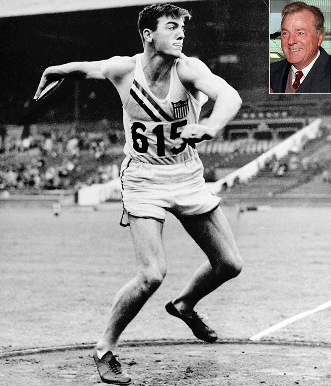At 17, Bob Mathias won his first gold medal in decathlon, only to repeat four years later at the 1952 Olympics.  In 1966 he was elected to Congress and was reelected three times, before losing in the 1974 election.  He went on to become the deputy director of the selective service and assist Gerald Ford in his presidential campaign.